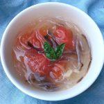 初夏の薬膳|トマトと黒キクラゲのスープ