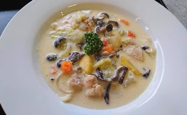 冬の薬膳|体ポカポカ 酒粕入り豆乳スープ