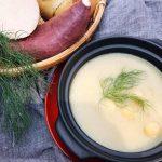 薩摩芋と山芋のスープ~フェンネルの香り~
