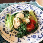 ️夏のメニュー️|〈ゴーヤの豆腐肉詰め焼き〉