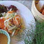 夏の薬膳|鮭のマリネ 薬膳ソース添え