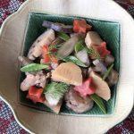 冬の薬膳|炒り鶏の煮物